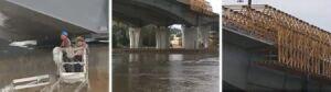 Most Północny na koniec 2011.[br] Auta pojadą, robotnicy zostaną