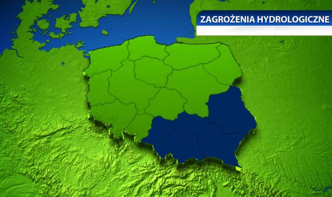 Śląskie, małopolskie, świętokrzyskie, podkarpackie, lubelskie - dla tych woj. zostały  wydane ostrzeżenia