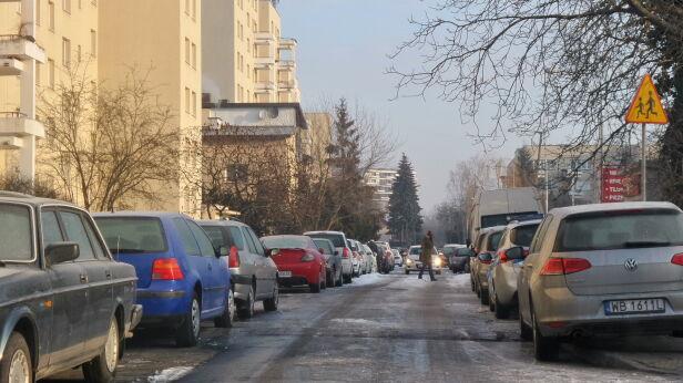 Tak wygląda ulica Podbipięty Artur Węgrzynowicz, tvnwarszawa.pl