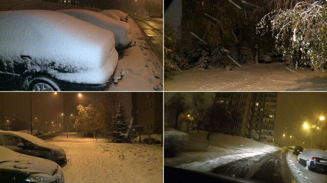 Pierwszy poważny atak zimy. <br />Duża połać kraju pod śniegiem