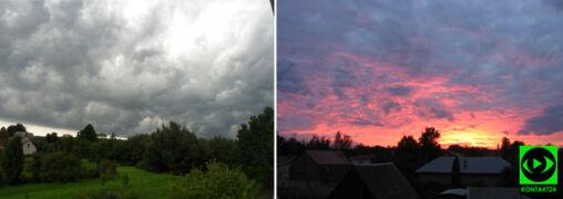 Wtorek był pochmurny i deszczowy. Wasze zdjęcia