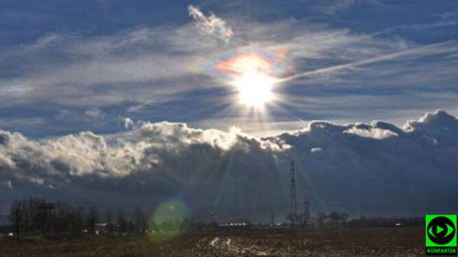 Pastelowe barwy na niebie. Jak powstał ten efekt?