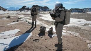 Już się urodził pierwszy człowiek, który postawi nogę na Marsie
