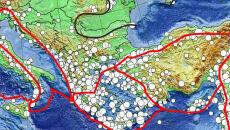 Wszystkie wielkie wstrząsy Europy. Zobacz wyjątkową mapę