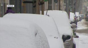 Poznań w śniegu
